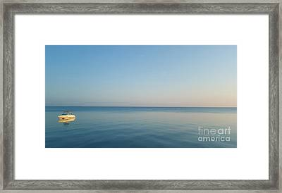 Going At Our Own Pace Framed Print by Art Kurgin