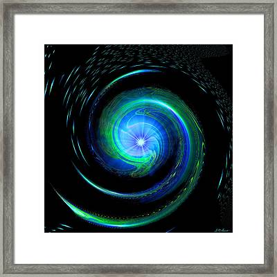 Going Deeper Framed Print by Michael Durst