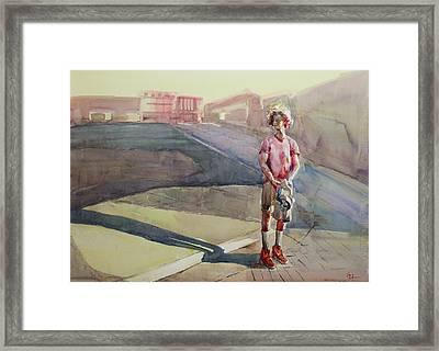 Going Home Framed Print by Becky Kim