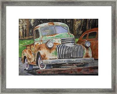 Going Home Framed Print by Eric Anderson
