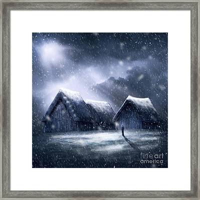 Going Home For Christmas Framed Print by Svetlana Sewell