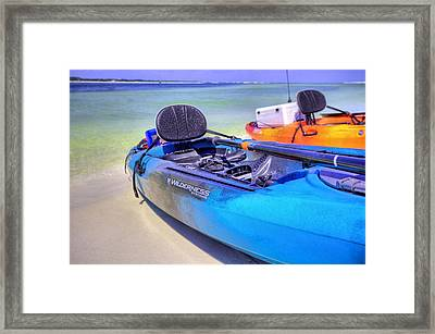 Going To Crab Island Framed Print by JC Findley