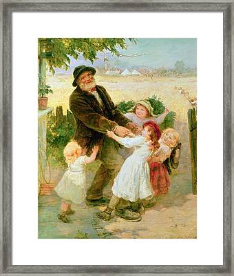 Going To The Fair Framed Print by Frederick Morgan