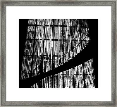 Going Up Framed Print by Dennis Sullivan