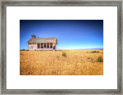 Going West Framed Print by Spencer McDonald