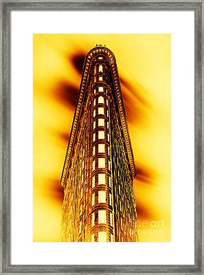 Gold Bullion Framed Print by Az Jackson