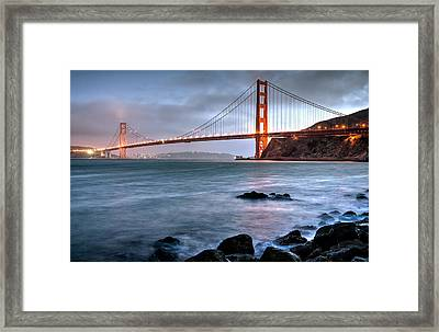 Golden Gate 2 Framed Print by Matt Hammerstein