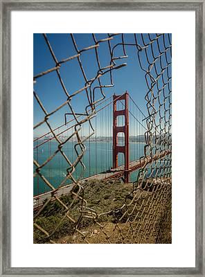 Golden Gate Framed Print by Brad Monahan