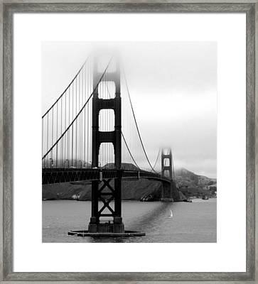 Golden Gate Bridge Framed Print by Federica Gentile