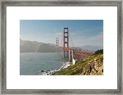 Golden Gate Bridge Framed Print by Ian Morrison