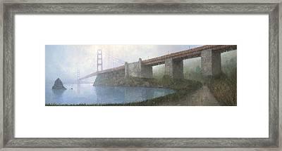 Golden Gate Bridge Framed Print by Steve Mitchell
