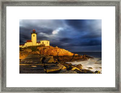 Golden Hour Framed Print by Mark Papke