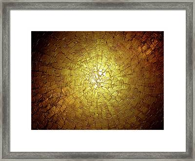Golden Illusion Framed Print by Daniel Lafferty