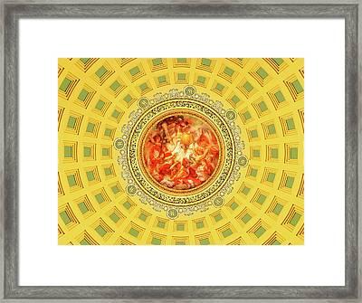 Golden Mural Framed Print by Todd Klassy
