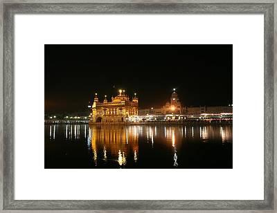 Golden Temple Framed Print by © Deepak Bhatia