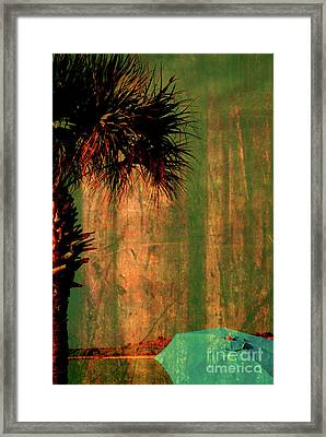 Golden View Framed Print by Susanne Van Hulst