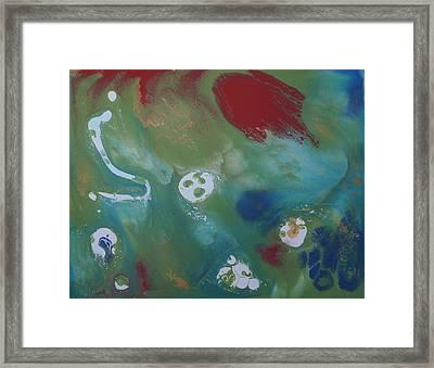 Goldilocks Terrain Of Exoplanet Framed Print by Adam Asar