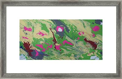Goldilocks Zone Terrain Framed Print by Adam Asar