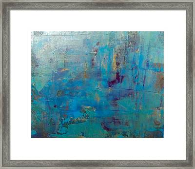 Goldnblue#46 Framed Print by Pearse Gilmore