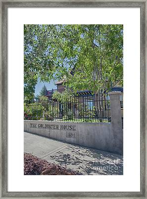 Goldwater House 1894 Framed Print by Anne Rodkin