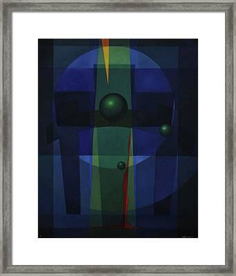 Golgotha Framed Print by Alberto D-Assumpcao