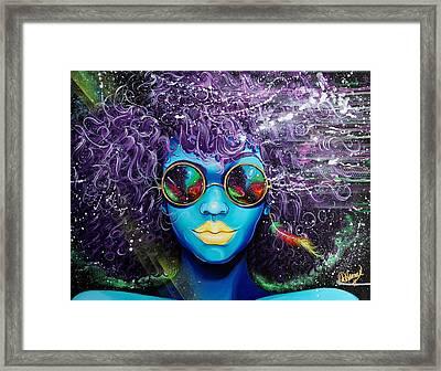 Gone  Framed Print by Aramis Hamer
