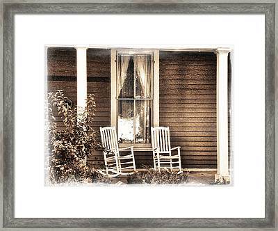 Gone Framed Print by Julie Palencia