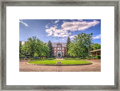 Gonzaga University Framed Print by Spencer McDonald