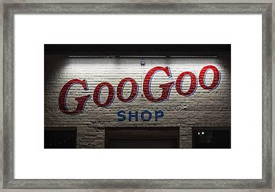 Goo Goo Framed Print by Stephen Stookey
