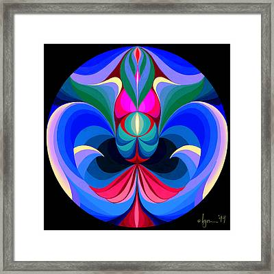 Good Fortune Framed Print by Angela Treat Lyon
