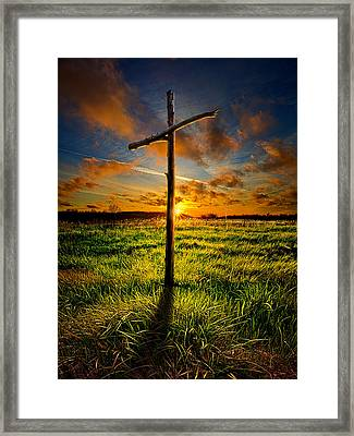 Good Friday Framed Print by Phil Koch
