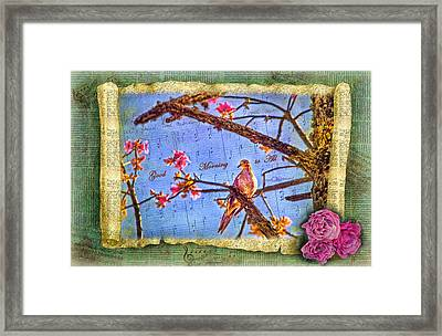 Good Morning Framed Print by Hanny Heim