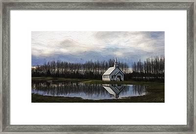 Good Morning - Hope Valley Art Framed Print by Jordan Blackstone