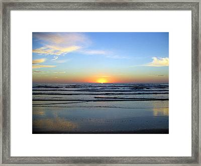 Good Morning Sunshine Framed Print by Evelyn Patrick