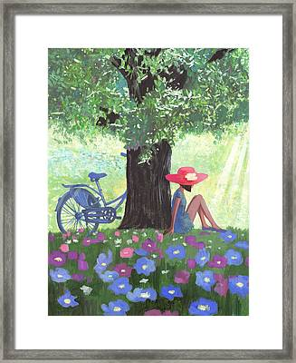 Good Morning Framed Print by Victoria Fomina