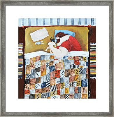 Good Night Framed Print by Soosh