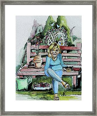 Good To Be Alive Framed Print by Mindy Newman