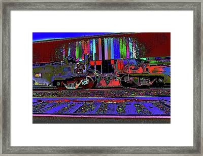 Good Vibe Ride To Appointment Times Framed Print by Kenneth James