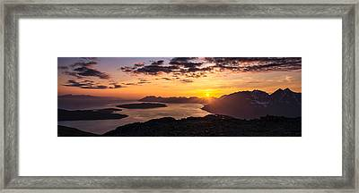 Goodbye And Goodnight Framed Print by Tor-Ivar Naess