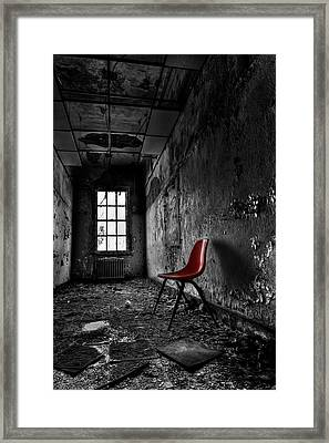 Goodbye Inocence Framed Print by Evelina Kremsdorf