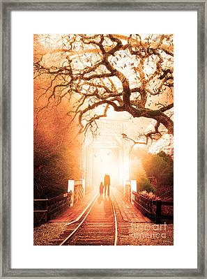 Goodbye My Friend Its Hard To Die 7d10745 Framed Print by Wingsdomain Art and Photography