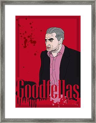 Goodfellas - Jimmy Framed Print by Ralf Wandschneider