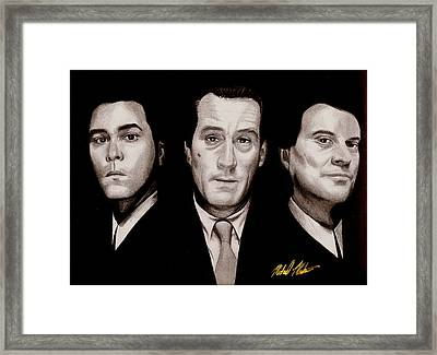 Goodfellas Framed Print by Michael Mestas