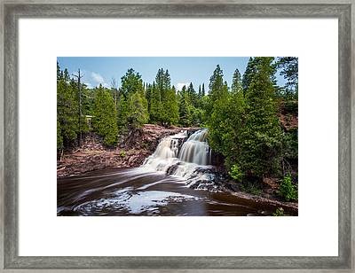 Gooseberry Falls Framed Print by Paul Freidlund