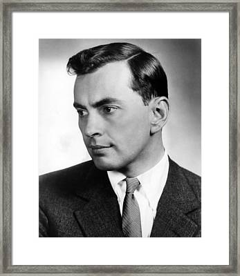 Gore Vidal, Author Of The Best Man Framed Print by Everett