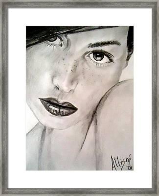 Gorgeous Framed Print by Allison Jones