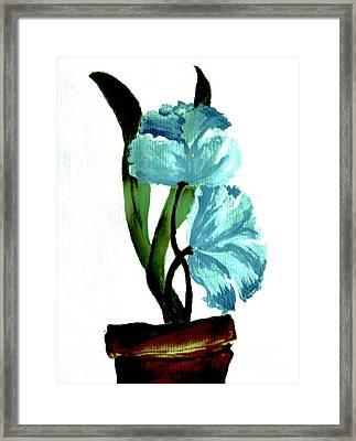 Gorgeous Flowers Framed Print by Marsha Heiken