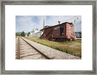 Gorham New Hampshire Framed Print by Erin Paul Donovan