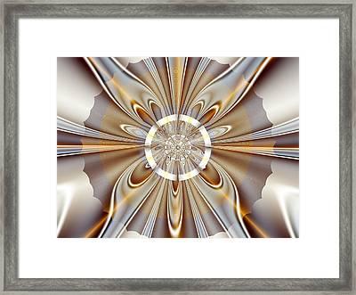 Gossamer Framed Print by Vicky Brago-Mitchell