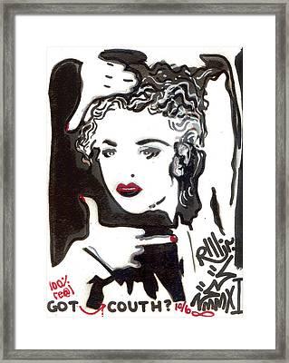 Got Couth Framed Print by Robert Wolverton Jr